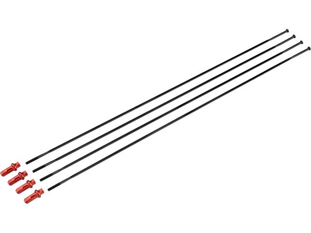 Fulcrum Kit Rayons roue avant 4 pièces pour Racing 5 LG CX Clincher